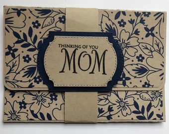 Mothers day, Gift card holder, Money holder, Happy Mothers Day, Mothers day gift, Celebrate, Your day, Thinking of you, Cash holder