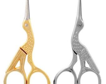 Sewing Scissors, Vintage Scissors, Tailor Scissors, Bird Scissors, Fabric Scissors, Cosmetics Scissors, Sewing Supplies, Antique Scissors