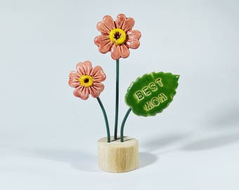 Table decoration floral arrangement flower bouquet holiday gift Oil diffusor ceramic Flowers decoration Birthday gift