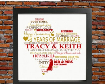 3rd ANNIVERSARY - 3rd anniversary gift, 3rd anniversary, third wedding anniversary, 3rd wedding anniversary gift