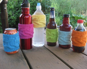 Cup Cozy, Sleeve, Tea Coffee, Eco-Friendly Reusable SALE// Buy 4 cotton cozy's get 5th one //FREE//