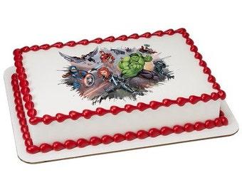 Avengers cake Etsy