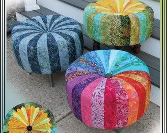 Quick and Cute Tuffets Tuffet Footstool Erin Underwood Quilt Sewing Pattern