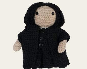 Severus Snape - Harry Potter. Amigurumi Pattern PDF, DIY, Crafts, Crochet, Wizard, Magic, Doll, Geek, Nerd, Children Gift, Instant download
