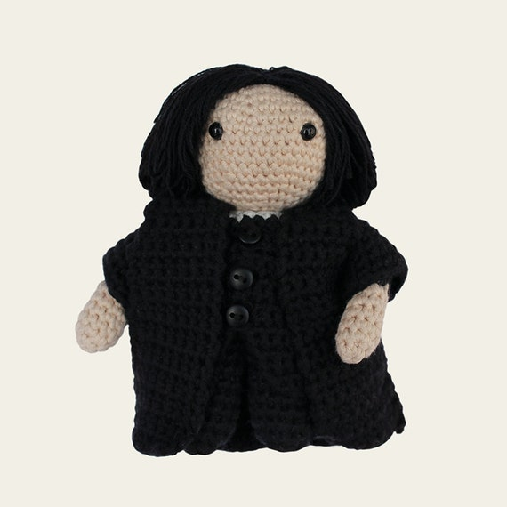 Severus Snape - Harry Potter. Amigurumi Pattern PDF.