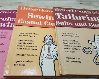 Better Homes and Gardens Creative Sewing Library, 1966 Set of 3