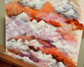 Cloudy painting