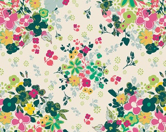 1/2 yard Art Gallery Floralia Femme Metale FUS-F-1002 designed by Pat Bravo