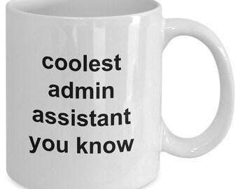 Administrative Assistant Mug Admin Assistant Coffee Mug