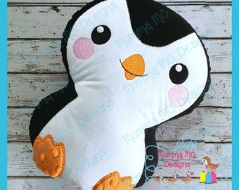 Penguin Softie Machine Embroidery File