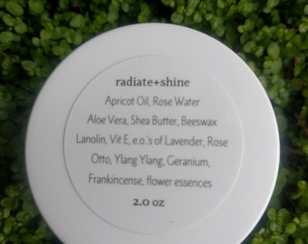 radiate+shine skincare cream