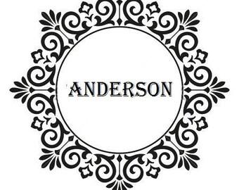 Custom Embosser, Embosser, Embossing Stamp, Embosser Seal, Monogram Embosser, Wedding Embosser, Hand Held Embosser,Trodat Embosser,Style X6