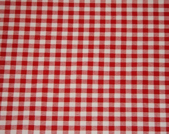 Fabric Store Checkmate red Cotton Fabric low price free shipping available Cotton fabric by the yard - SHIPS FAST
