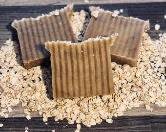 Oatmeal, Milk & Honey Goat Milk Soap, Handcrafted Soap, All Natural Soap, Handmade Soap, Homemade Soap