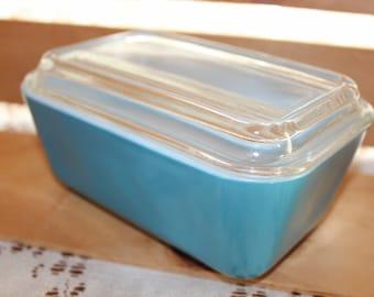 Pyrex, Blue, Casserole, Casserole Dish, Serving Dish, Vintage Pyrex