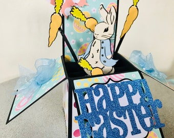 Peter Rabbit Easter Box Card