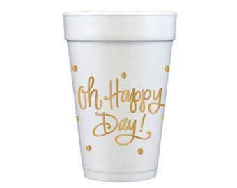 Foam Cups | Oh Happy Day!