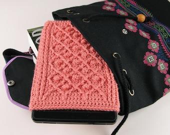 Crochet Pattern Kindle Fire Cover Summer and Winter Rose Trellis Pattern - Digital Download PDF Crochet Pattern