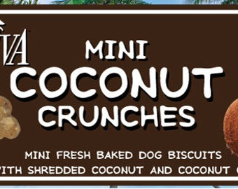 Coconut Dog Biscuits!  Made with 100% Coconut Oil
