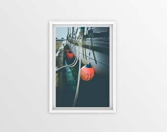 Alaska Sailboat Wall Art, Sailboat Wall Art, Alaska Wall Art Print, Boat Art Print, Printable Poster, Boat Large Art Print, Digital Print