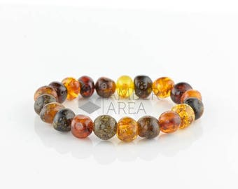 Baltic Amber Bracelet Adults // 7261