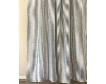 vertical striped etsy. Black Bedroom Furniture Sets. Home Design Ideas