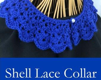 Pattern: Shell Lace Collar - A Crochet Pattern