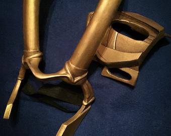 Lady Loki Tiara Cosplay Headpieces Gold Horns Fantasy Costume