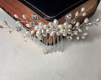 Bridal hair comb, wedding hair comb, bridal accessories, bridal headpiece, bridal hair piece, wedding comb, bridal hair accessories, bridal