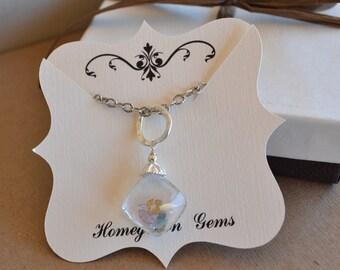 Custom Necklace Jewelry Display Cards Fancy Cut 00012a