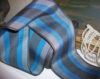 french vintage ribbon stripe silk mens hats