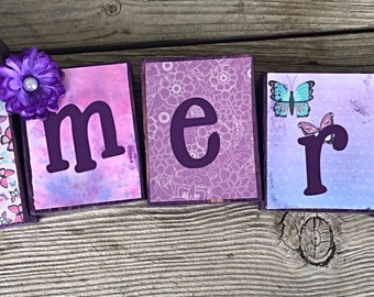 Custom name blocks