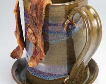 Brown bacon cooker microwave bacon cooker goes great with our microwave egg poacher
