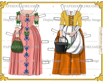 Printable Paper Doll - Ann Cobb Additional Costumes