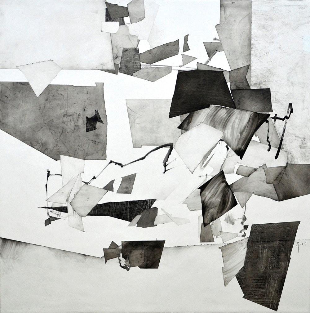 Moderne Kunst-Malerei abstrakt zeitgenössische Kunst