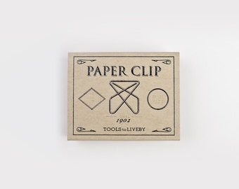 Gold Brass Paper Clips - Tools to Liveby Ideal