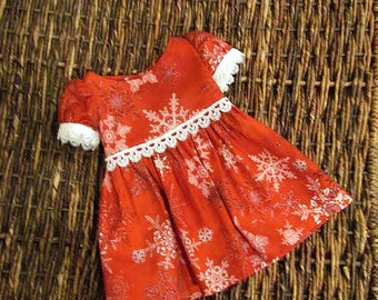 "Holiday Dress for American Girl Doll or 18"" Doll."