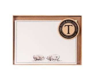 Pigs Correspondence Postcards