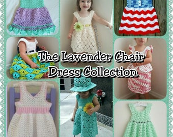 The Lavender Chair Dress Collection Pattern Pack *PDF FILES ONLY* Instant Download