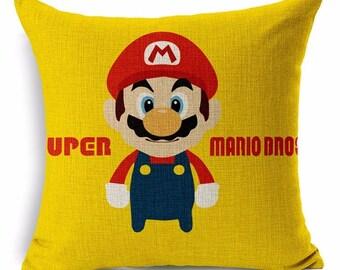 Super Mario Brothers Custom Pillow Case!