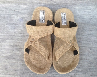 Men's slippers Summer men's slippers-Men sandals-Straw sandals-sandals-Summer sandals