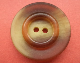 11 buttons Brown 23mm (6254) button