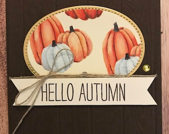 Fall - Hello Autumn Card Class Kit