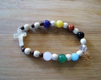 Stretchy Psalm 23 Bracelet