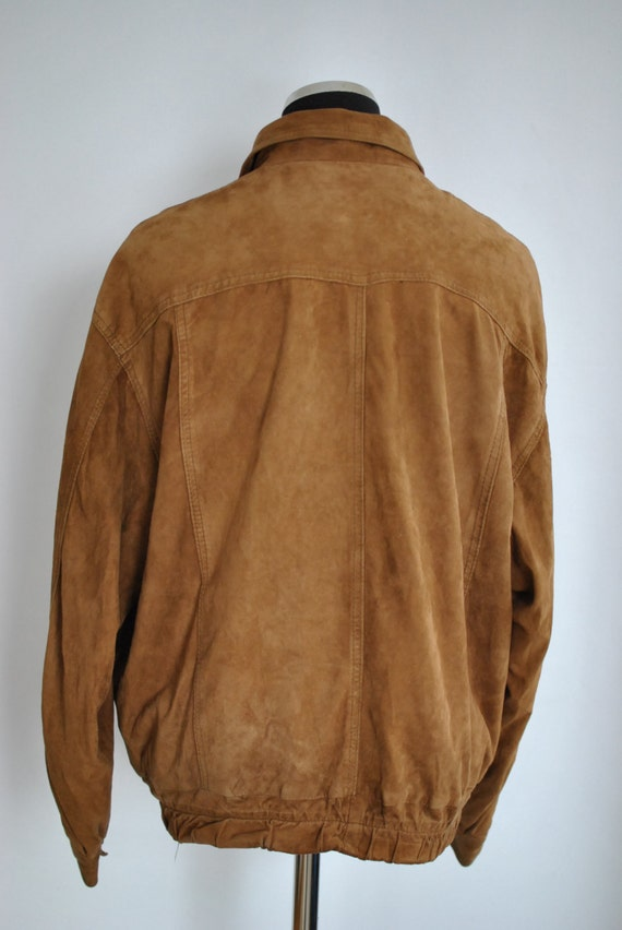 SUEDE men's 259 jacket leather Vintage LEATHER bomber JACKET Rt6Rqw