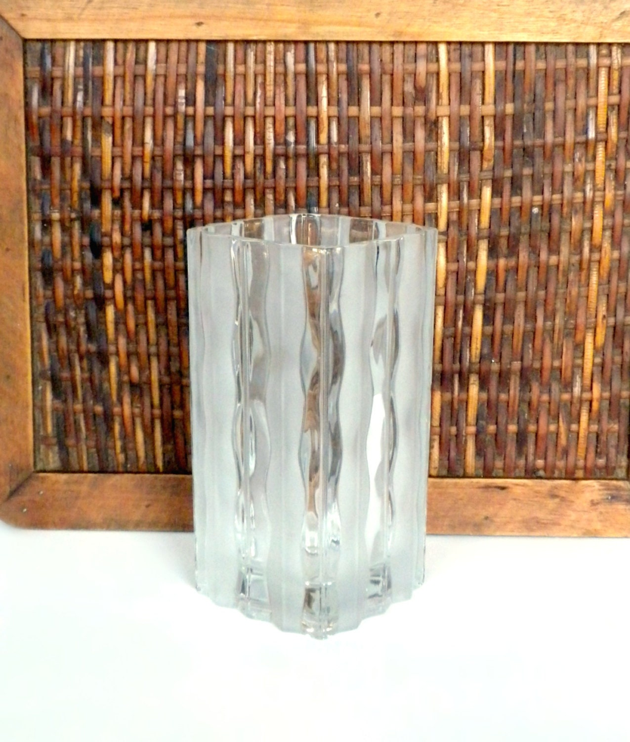 Square flower vase glass vase for flowers clear glass vase zoom reviewsmspy