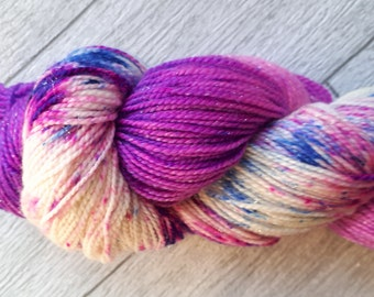 Galactica - Hand Dyed Merino Sparkle Sock 4ply