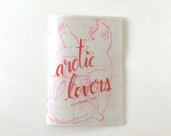 Arctic Lovers - a sketchbook comic zine