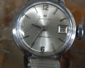 Vintage Ladies Automatic Hamilton Watch