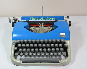 Original Photograph of a 1960 French Beaucourt Typewriter